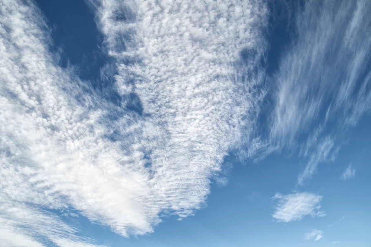 sky, clouds, cirrocumulus
