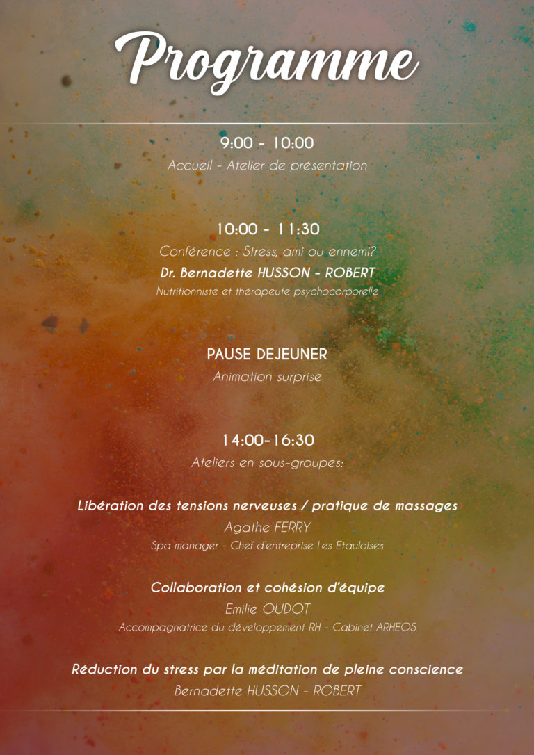Journée séminaire entreprise